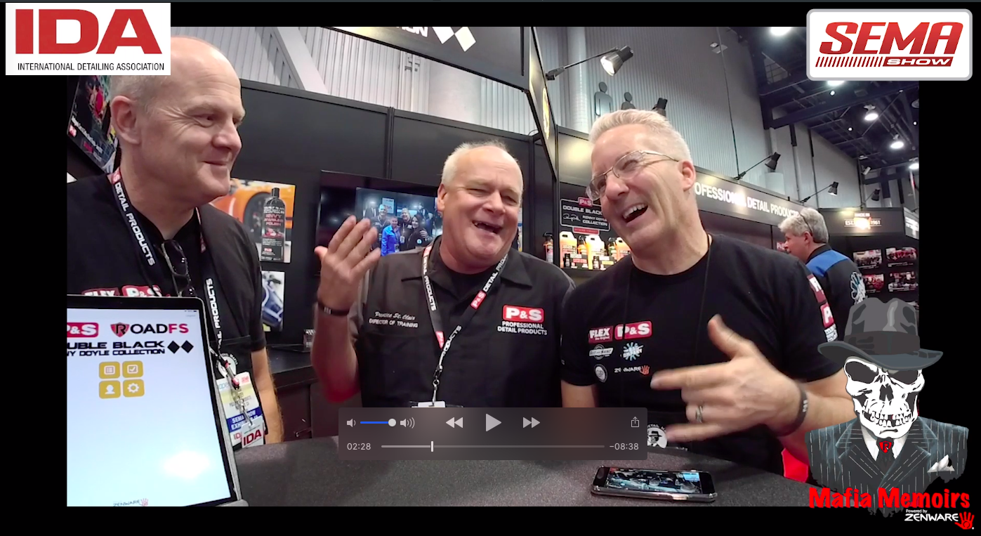 Mafia Memoirs at SEMA with Prentice St. Clair