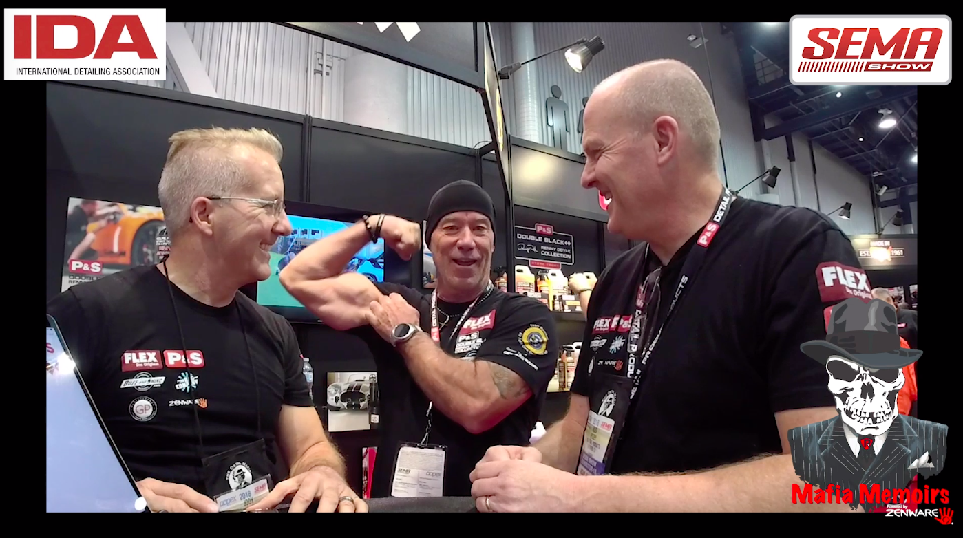 Mafia Memoirs at SEMA with Rich Sharon