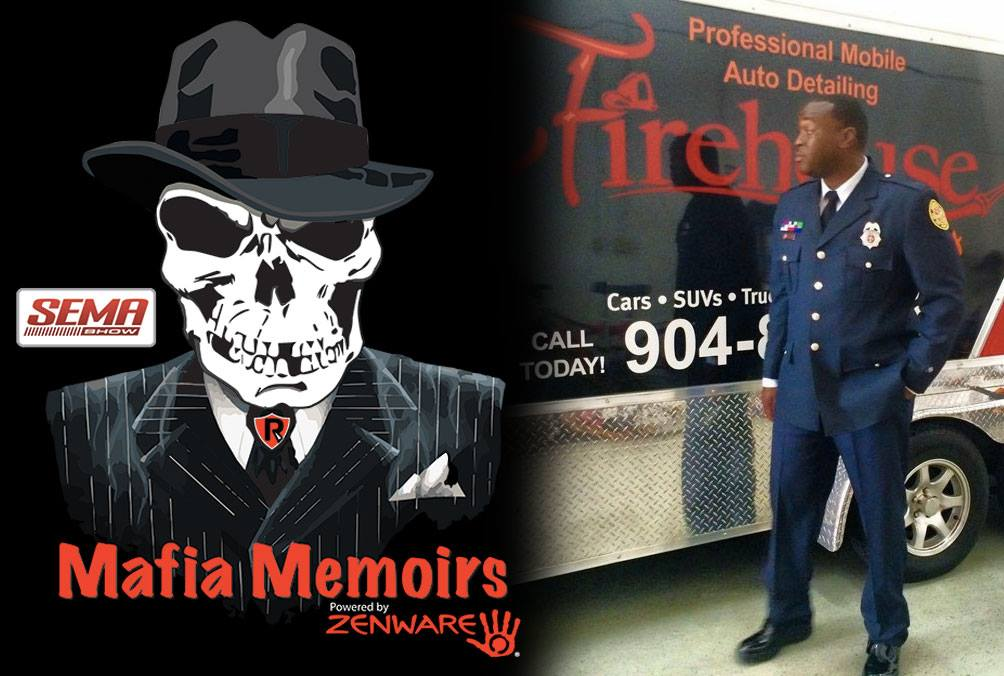 Mafia Memoirs Sema 2018 an interview with Mark Elliott of Firehouse Auto Spa