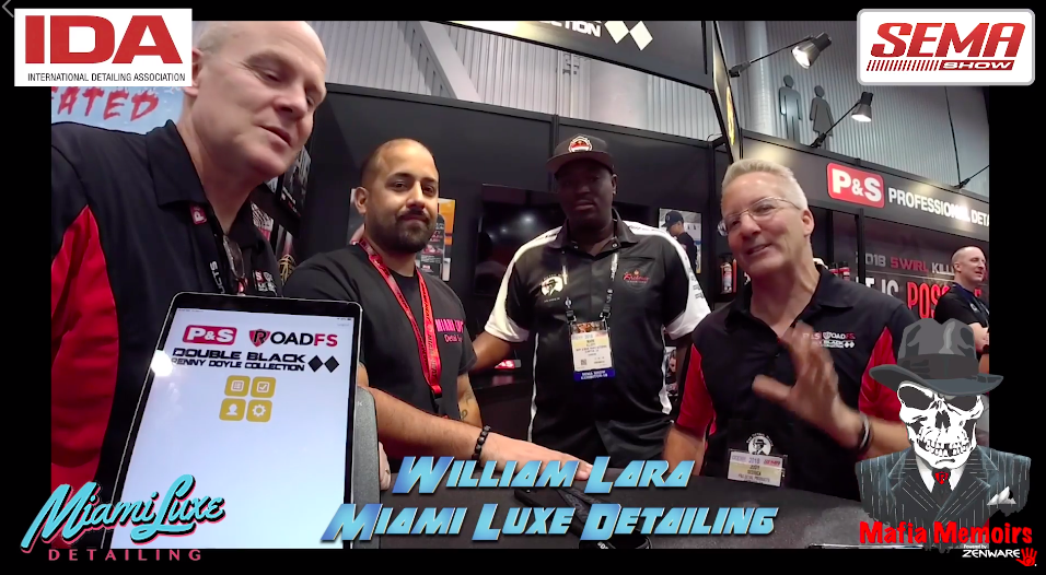 Mafia Memoirs At SEMA with William Lara